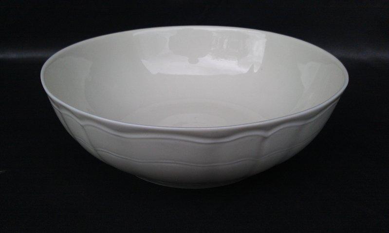 saladier 25 cm mod le chambord boutique de porcelaine blanche. Black Bedroom Furniture Sets. Home Design Ideas