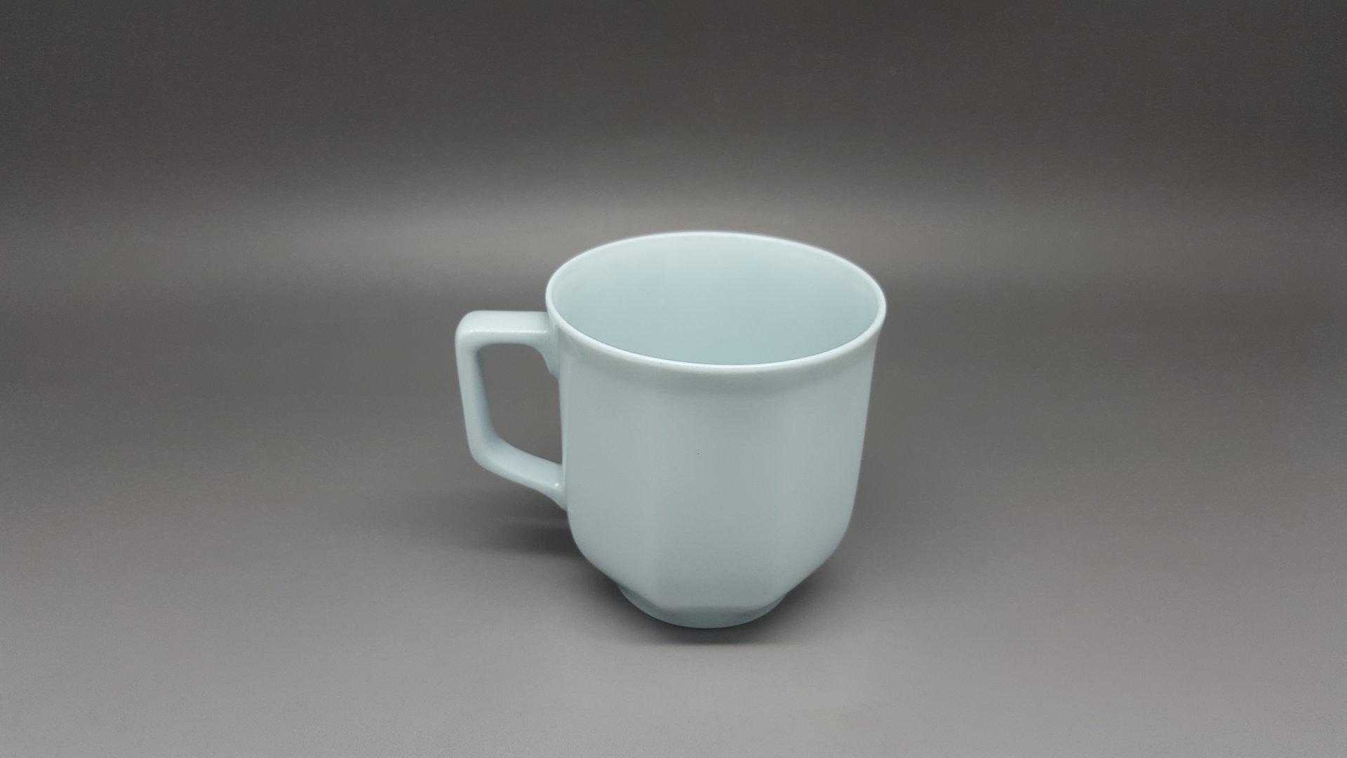 tasse cafe octogonal la boutique de porcelaine blanche d class e. Black Bedroom Furniture Sets. Home Design Ideas