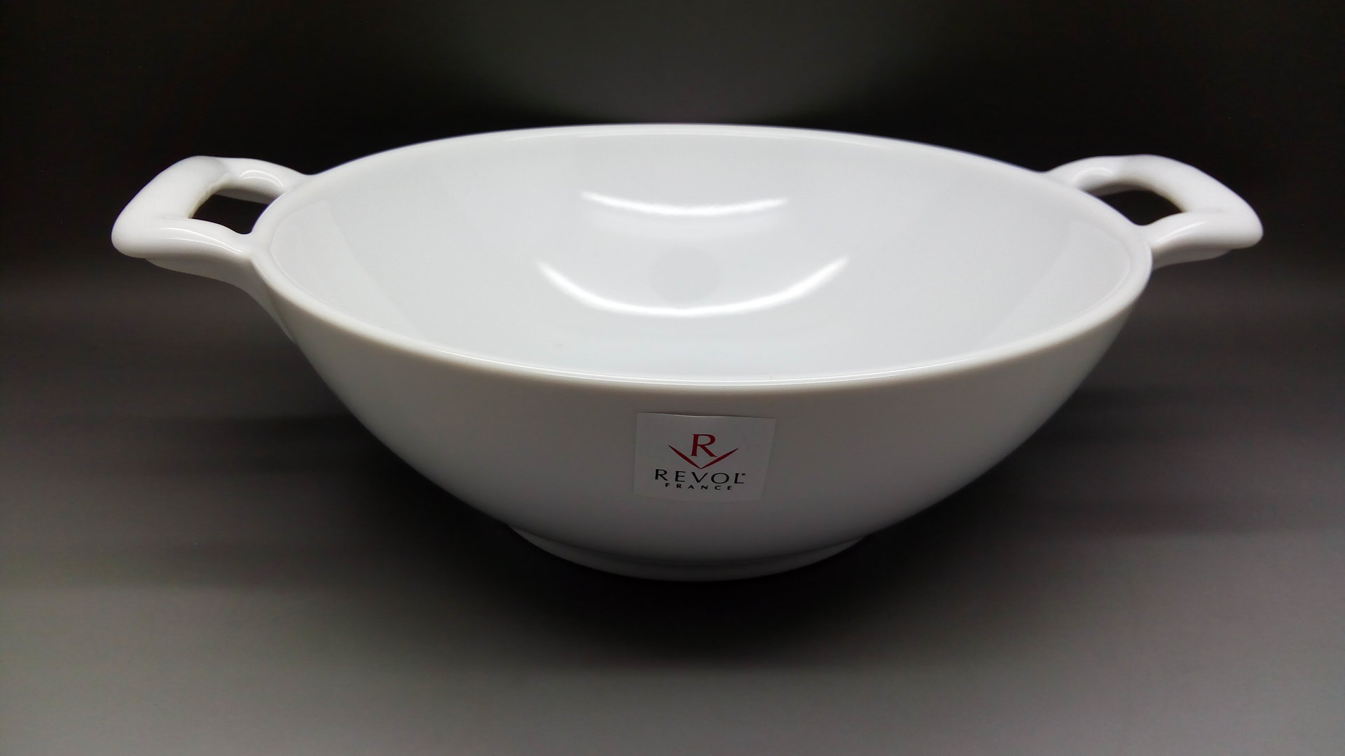 Wok blanc Collection Belle Cuisine